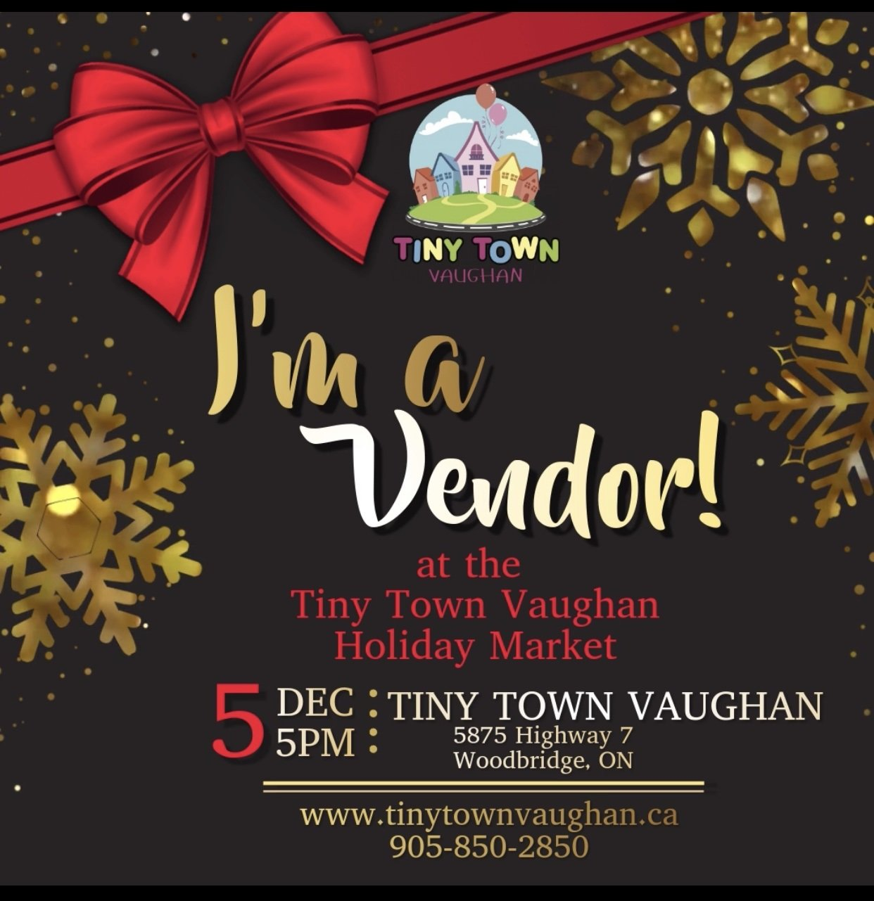 We're at Tiny Town Vaughan!