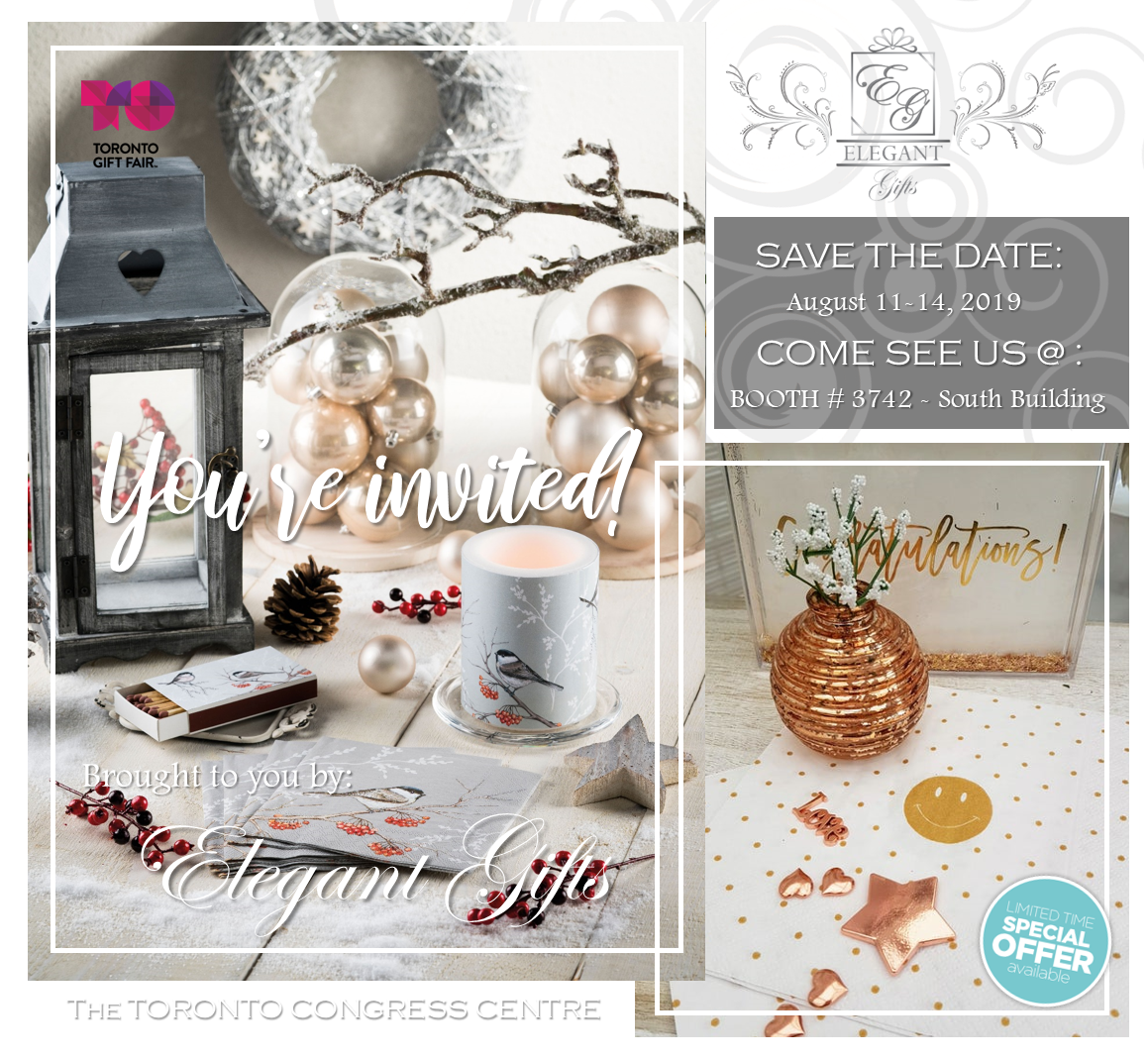 GIFT+HOME MARKET – Toronto Fall 2019